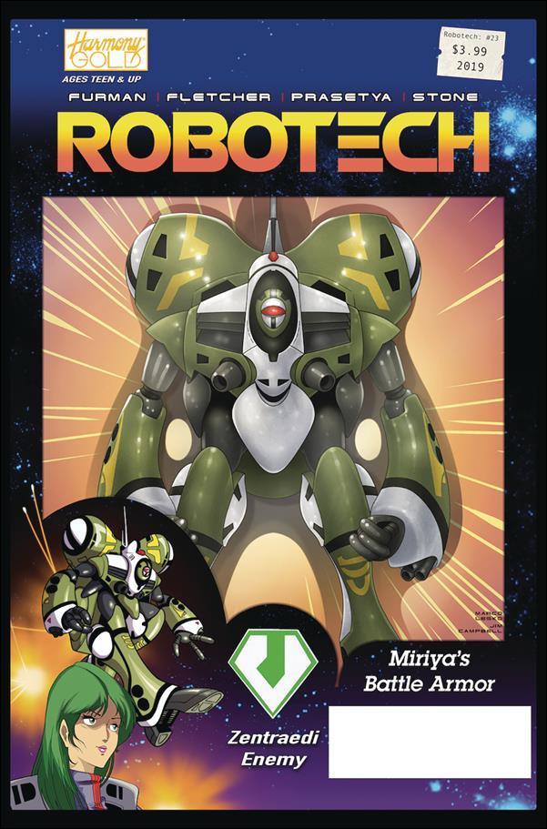 Robotech (2017) 23-B by Titan