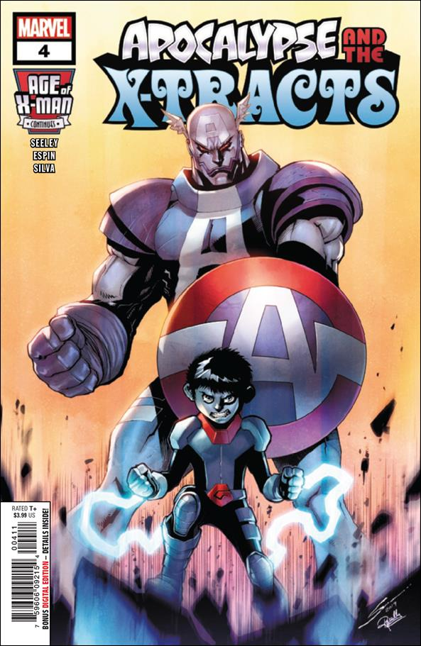 Age of X-Man: Apocalypse and the X-Tracts 4-A by Marvel