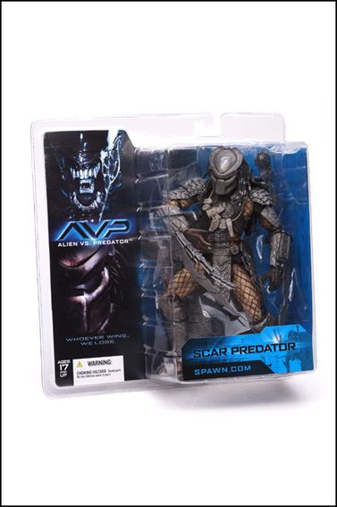 Alien vs Predator (Series 1) Scar Predator  by McFarlane Toys