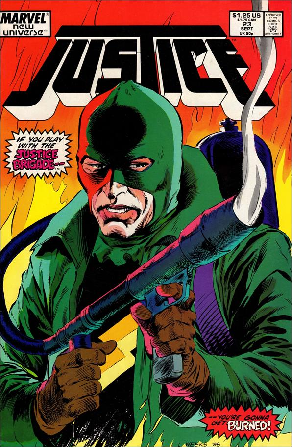 Justice (1986) 23-A by Marvel