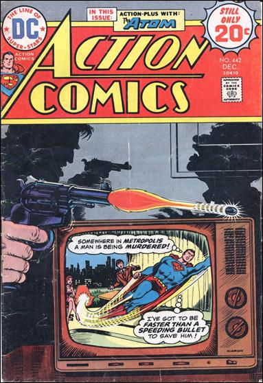 Action Comics (1938) 442-A by DC