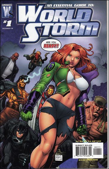 WorldStorm 1-A by WildStorm