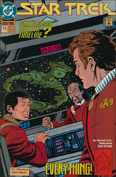 Star Trek (1989) 53-A by DC
