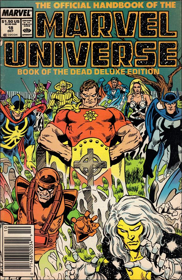 Official Handbook of the Marvel Universe (1985) 18-A by Marvel