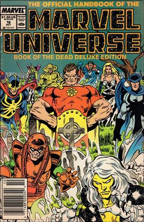 Official Handbook of the Marvel Universe (1985) 18-A