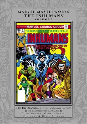 Marvel Masterworks: The Inhumans 2-A