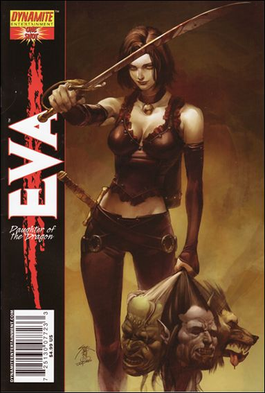 Eva: Daughter of the Dragon One-Shot 1-A by Dynamite Entertainment