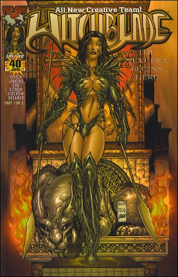 Witchblade 40-B by Top Cow