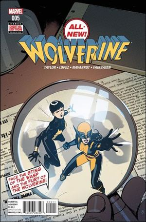 All-New Wolverine  5-A