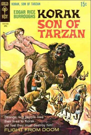 Korak, Son of Tarzan 28-A by DC