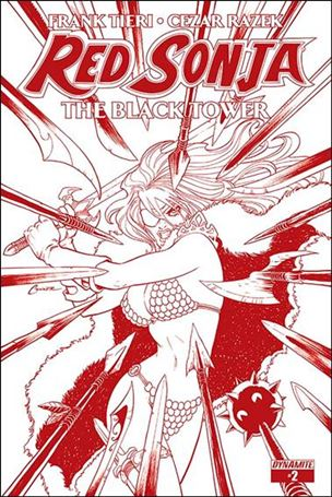 Red Sonja: The Black Tower 2-C