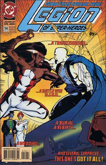 Legion of Super-Heroes (1989) 50-A by DC