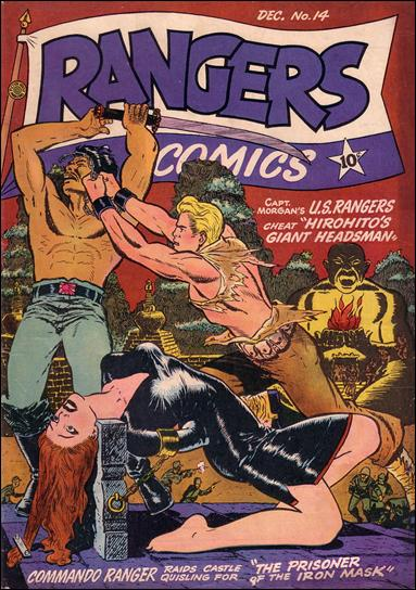 Rangers Comics 14-A by Fiction House Magazines