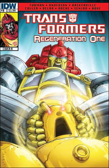 Transformers: Regeneration One 0-A by IDW