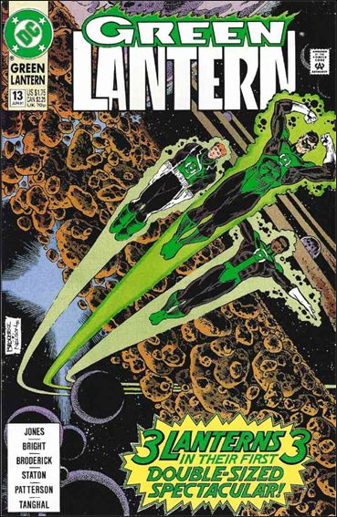 Green Lantern (1990) 13-A by DC