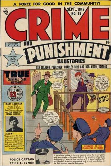 Crime and Punishment 18-A by Lev Gleason Productions
