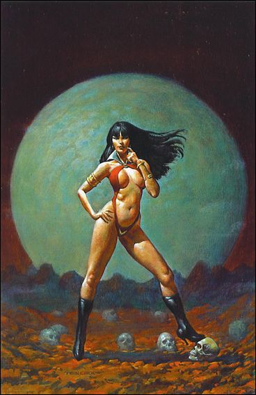 Vampirella Revelations 1-D by Harris