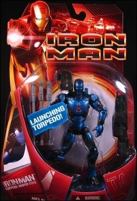 Iron Man (Movie) Iron Man (Torpedo Armor) by Hasbro