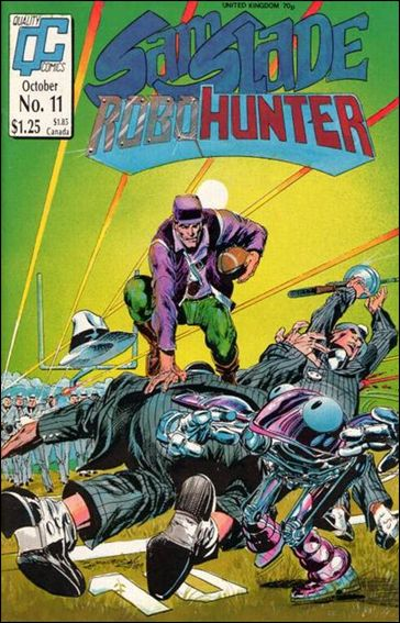 Sam Slade Robo Hunter 11-A by Quality Comics