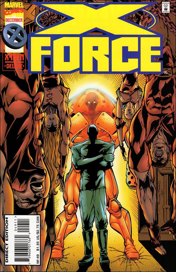 X-Force (1991) 49-A by Marvel
