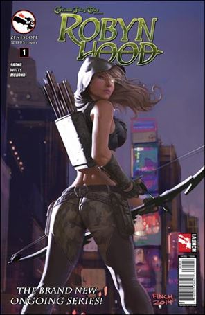 Grimm Fairy Tales Presents Robyn Hood (2014) 1-A