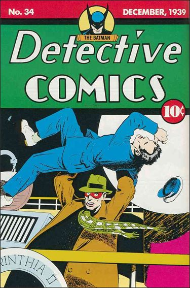 Detective Comics (1937) 34-A by DC
