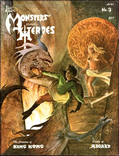 Larry Ivie's Monsters and Heroes 3-A by M & H Publications