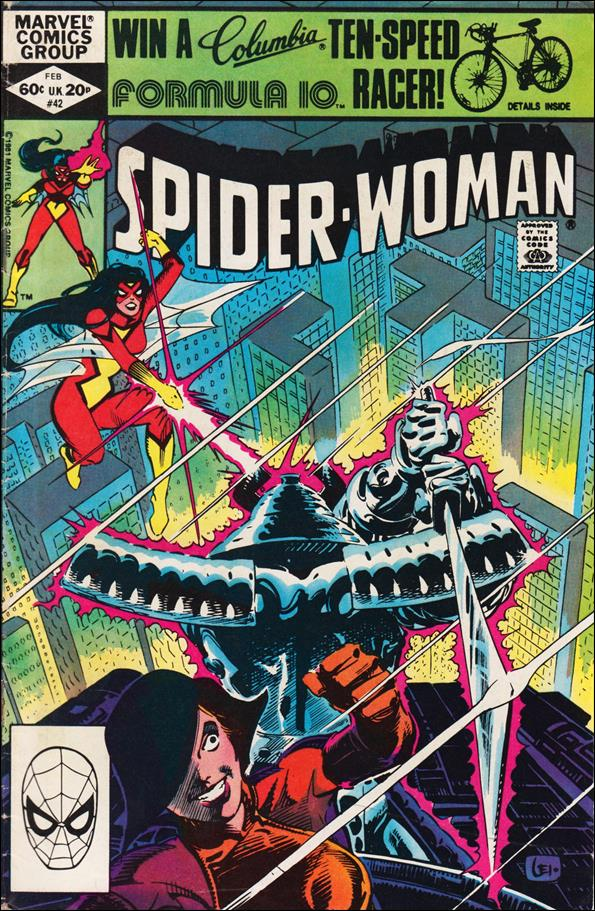 Spider-Woman (1978) 42-A by Marvel