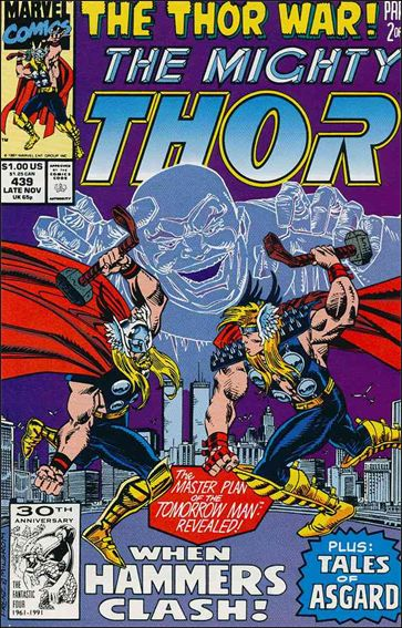 Thor (1966) 439-A by Marvel