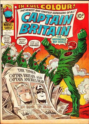 Captain Britain (UK) (1976) 19-A
