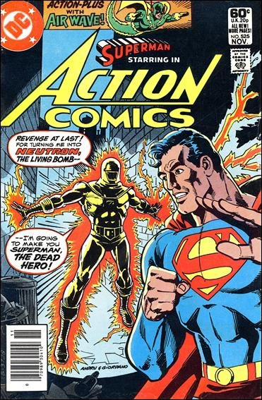 Action Comics (1938) 525-A by DC