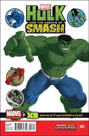 Marvel Universe Hulk: Agents of S.M.A.S.H.  3-A