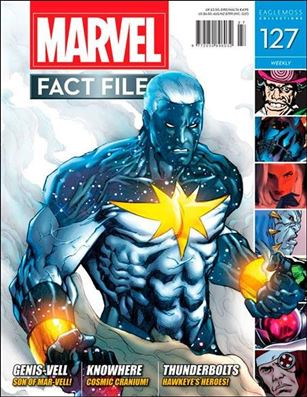 Marvel Fact Files 127-A