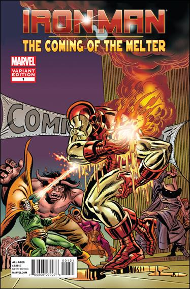 Iron Man: The Coming of The Melter 1-B by Marvel