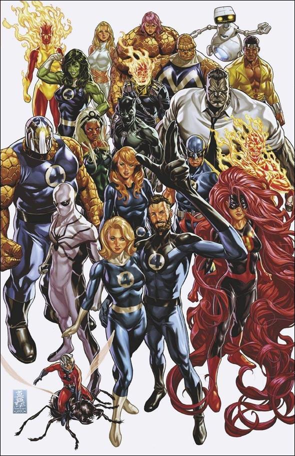 Fantastic Four (2018) 35-H by Marvel