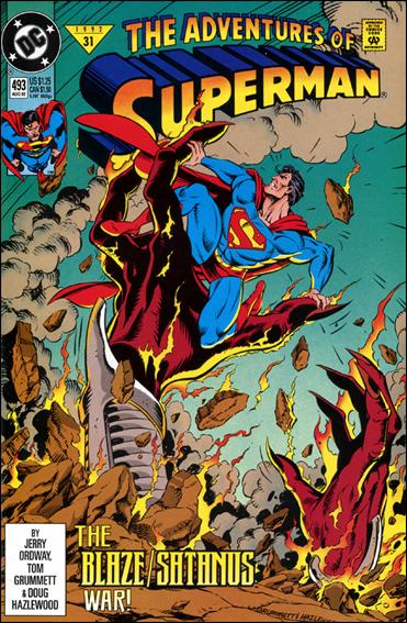 Adventures of Superman (1987) 493-A by DC