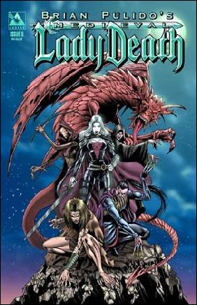 Brian Pulido's Medieval Lady Death 6-B by Avatar Press
