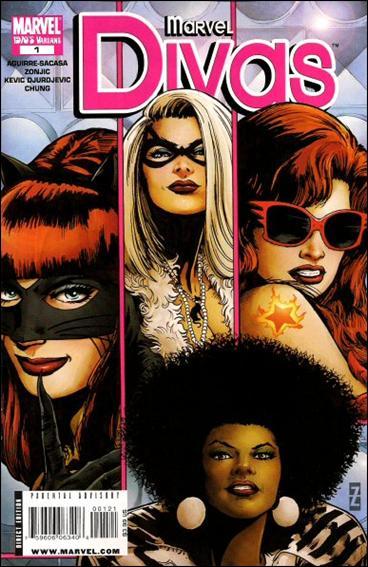 Marvel Divas 1-B by Marvel