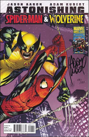 Astonishing Spider-Man & Wolverine 1-F by Marvel