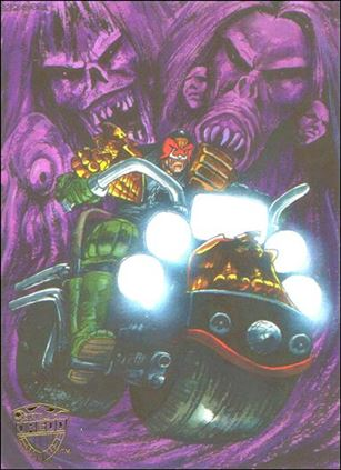 Judge Dredd: The Epics (Legends Original Artwork Cards Subset) 3-A