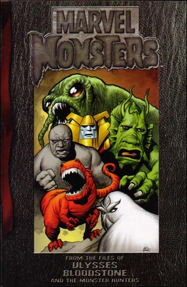 Marvel Monsters: From the Files of Ulysses Bloodstone 1-A by Marvel