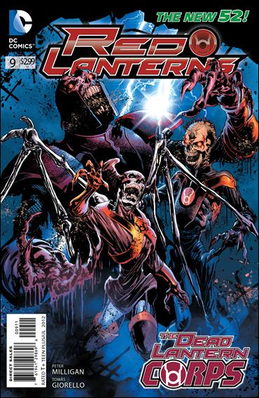 Red Lanterns 9-A by DC