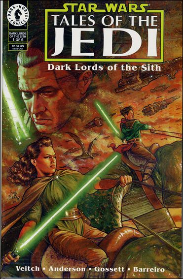 Star Wars: Tales of the Jedi - Dark Lords of the Sith, Book One 1-A by Dark Horse