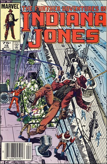 Further Adventures of Indiana Jones 16-B by Marvel