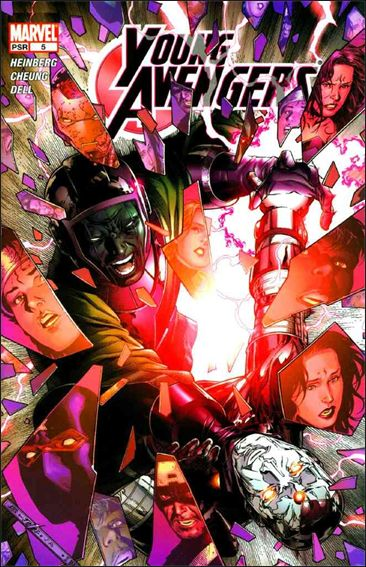 Young Avengers (2005) 5-A by Marvel