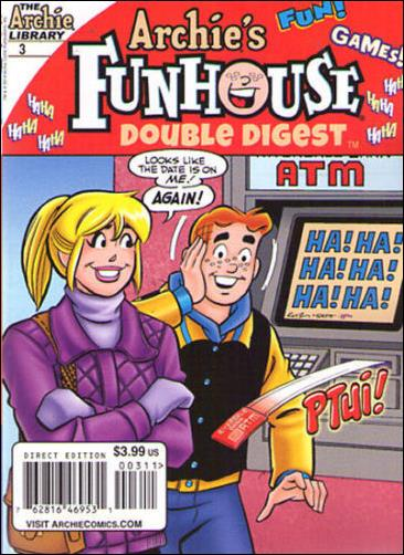 Archie's Funhouse Double Digest 3-A by Archie