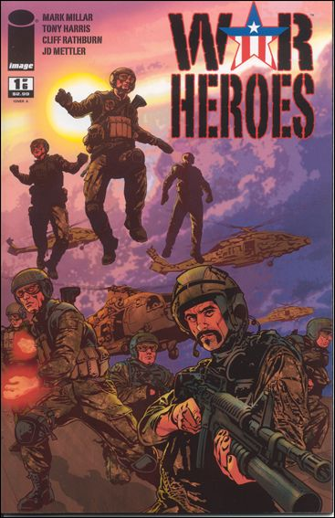 War Heroes (2008) 1-A by Image