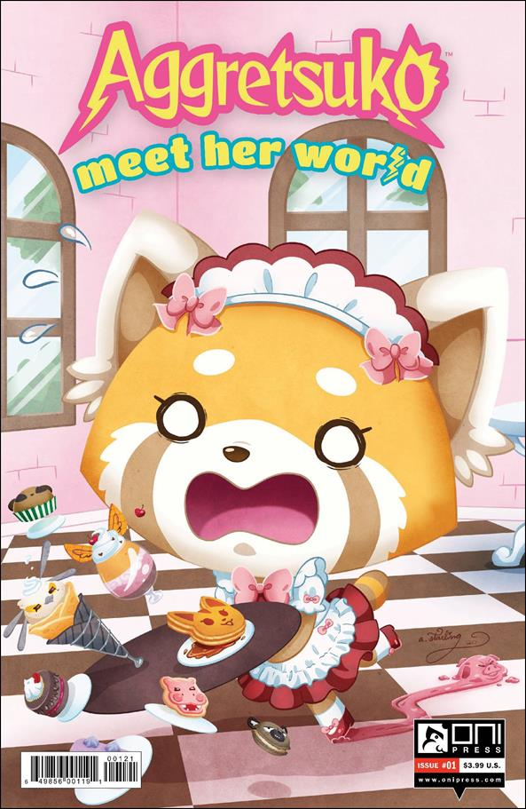 Aggretsuko: Meet Her World 1-B by Oni Press
