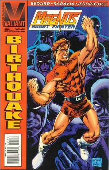 Magnus Robot Fighter (1991) 49-A by Valiant