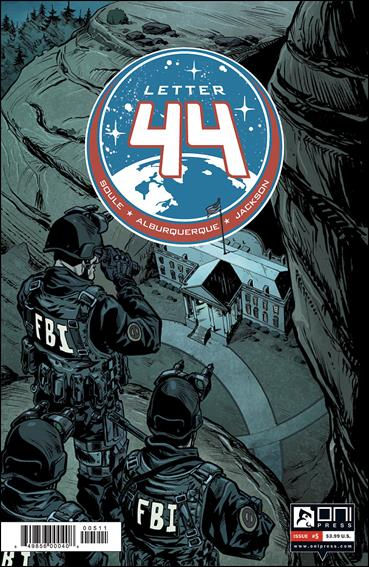 Letter 44 5-A by Oni Press